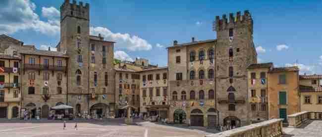Viaje Autocaravana por Arezzo