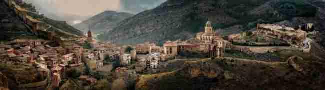 Sitios para visitar en autocaravana en albarracín, Teruel