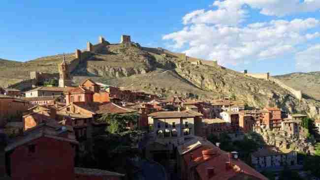 Parking gratuito para autocaravanas, Albarracín Aragón