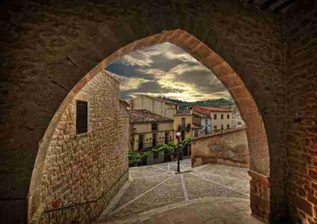 aparcar gratis mi autocaravana en calaceite, Aragón