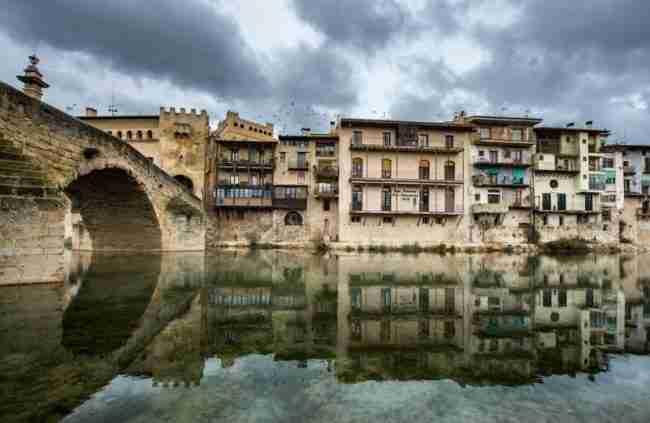Aparcar gratis en Teruel mi autocaravana, Valderrobres