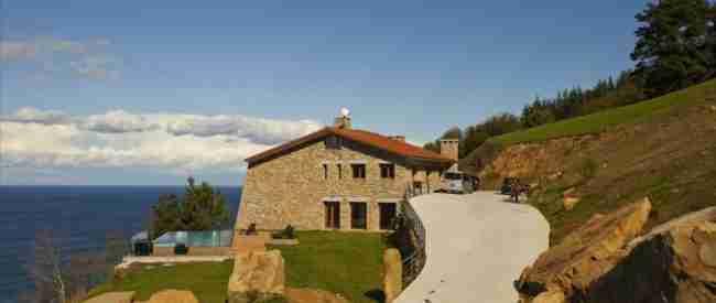 Casa rural junto al mar apta para perros en Euskadi