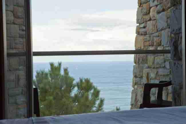 Casa Rural con vistas al mar en Orio