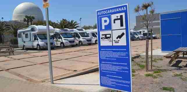 Mejor área de autocaravana en Castellón para aparcar y dormir