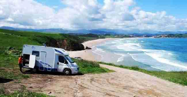 playas de españa en autocaravana