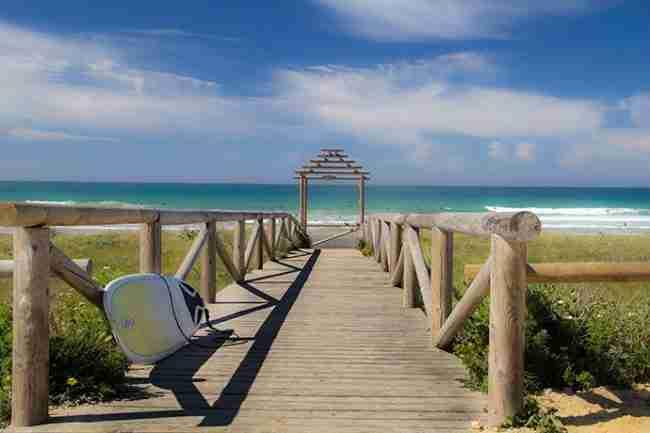 playas vírgenes o poco masificadas en vejer de la frontera