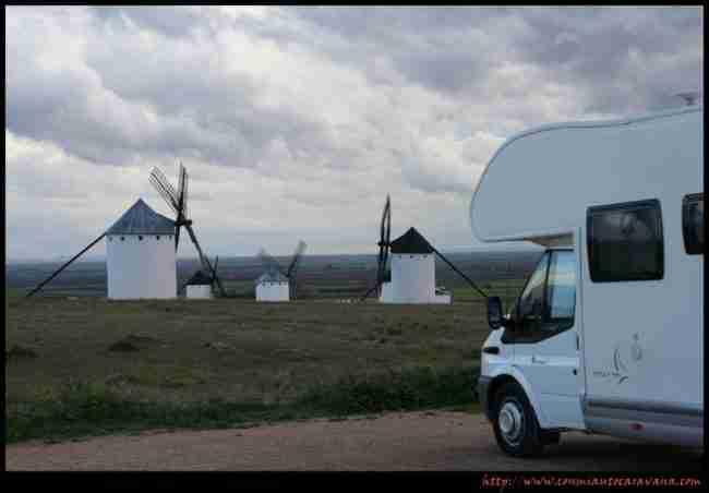 turismo de autocaravanas en Castilla La Mancha
