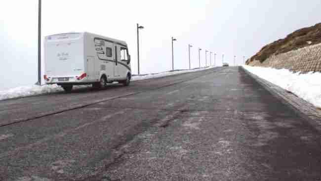 consejos para la autocaravana si va a estar parada mucho tiempo durante el invierno