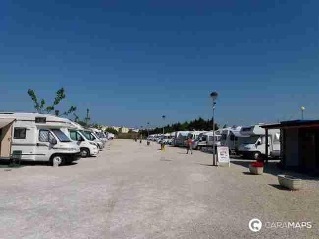dunes camper area