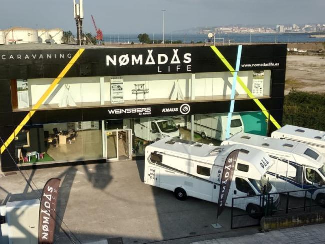 nomadas life venta y alquiler de autocaravanas en Asturias