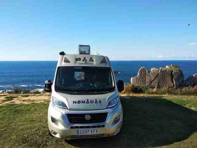 venta de autocaravanas en Asturias Nomadas Life