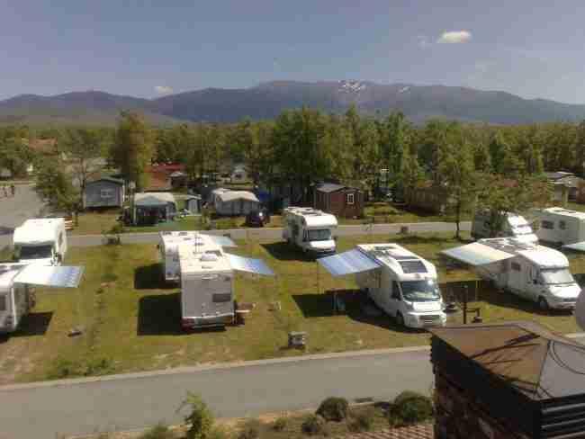 camping riaza en autocaravana