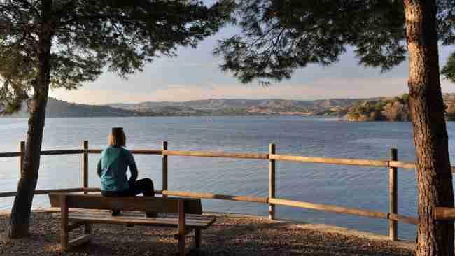 camping lake caspe para Autocaravanas