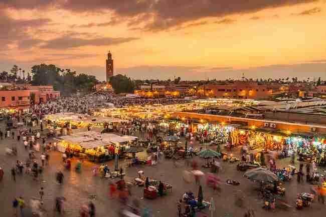 marrakech en autocaravana, lugares para visitar y estacionar