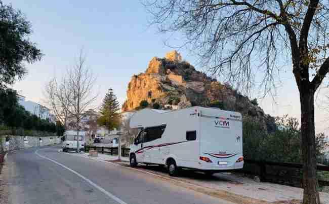 viaje en autocaravana por España