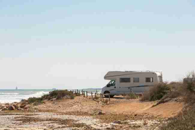 la costa andaluza en autocaravana