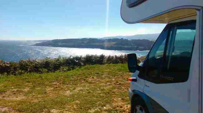 playas de asturias en autocaravana