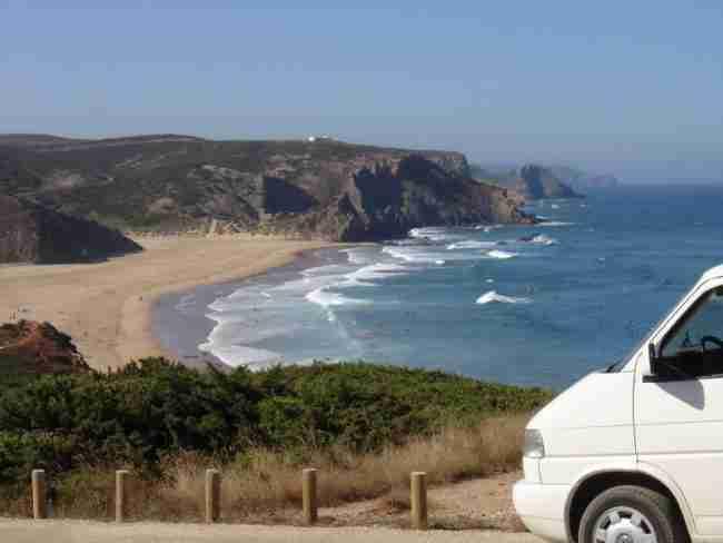 playas de galicias en autocaravana