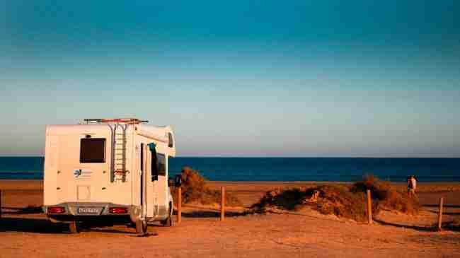 playas para visitar en autocaravana