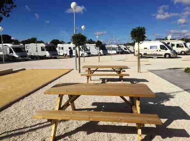 lugares para visitar y estacionar en Autocaravana en el Campiello