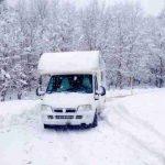 Consejos para conducir por la nieve en autocaravana