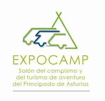 salon del campismo y turismo de aventura logotipo