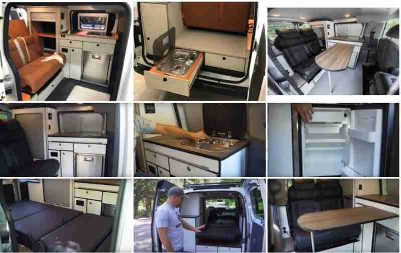 Nissan NV200 camper polivalente seguros vicente velasco campers