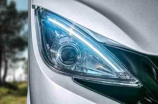 Maxima visibilidad faros  | fotos e imagenes interior Hymer clase B masterline