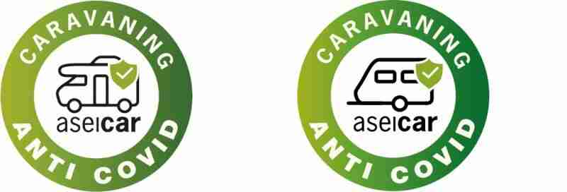 sello caravaning anti covid aseicar