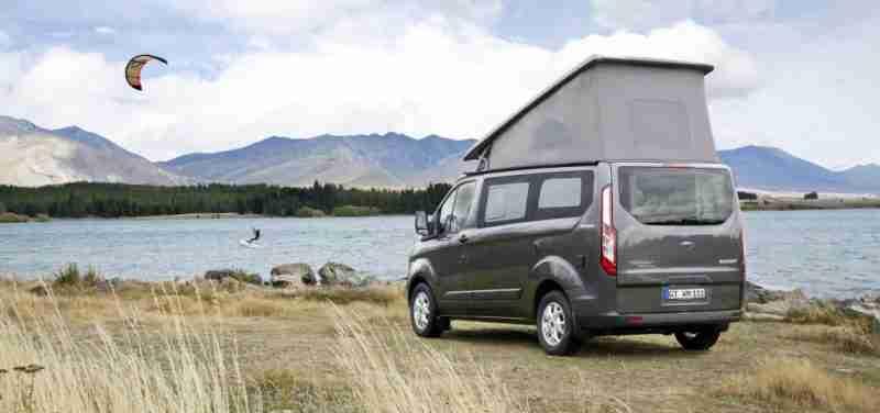 furgoneta camper vacaciones 2020