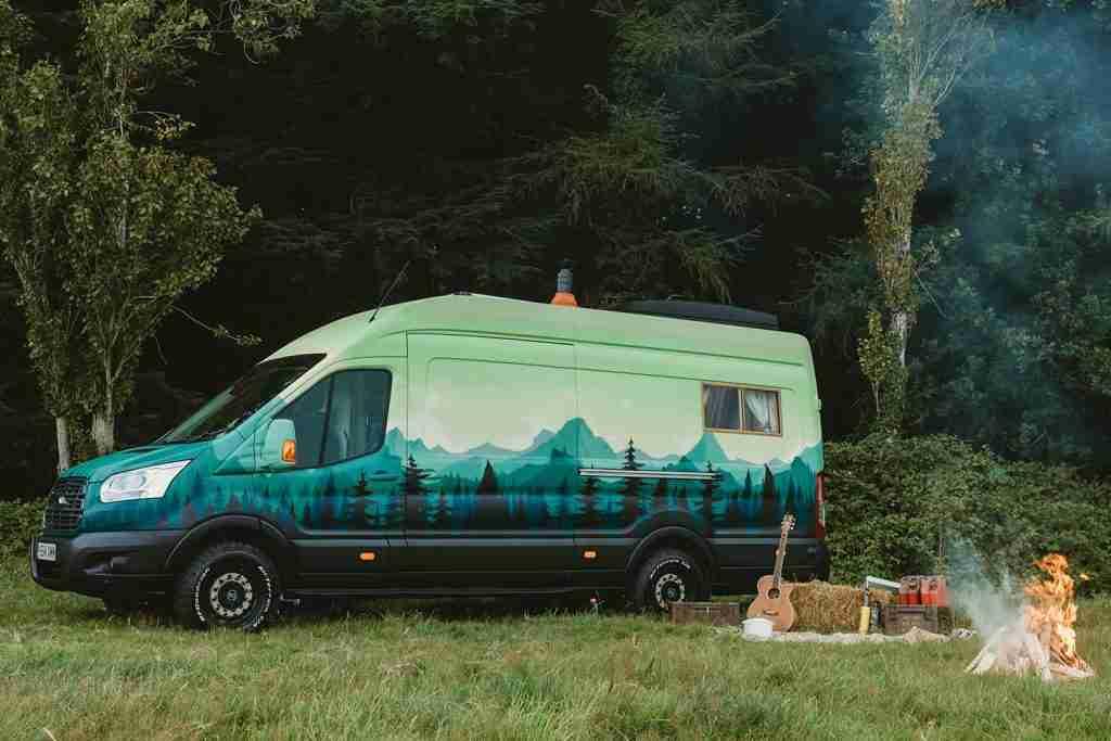 furgoneta rumi ford transit transformada