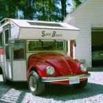 VW Beetle pick-up camper o un escarabajo convertido en Food Truck