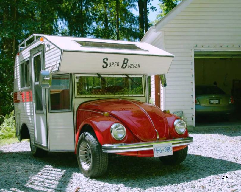 Volkswagen Escarabajo food truck