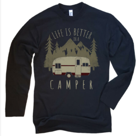 sudadera hombre life is better in a camper