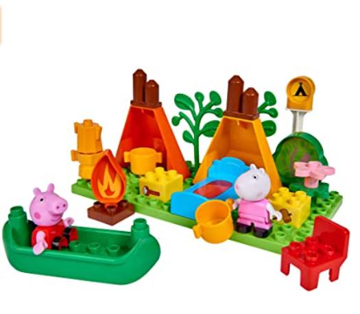 peppa pig camping