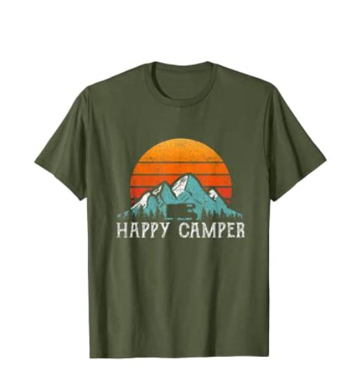 Camiseta para amantes de la van life y de la vida en caravana