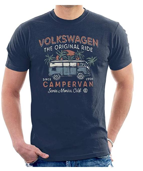 Volkswagen The Original Ride Campervan Men's T-Shirt