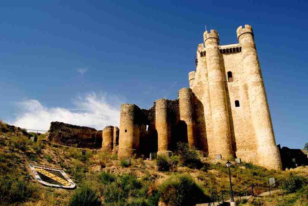 Castillo de los Acuña y Portugal Castillo de Valencia de Don Juan.