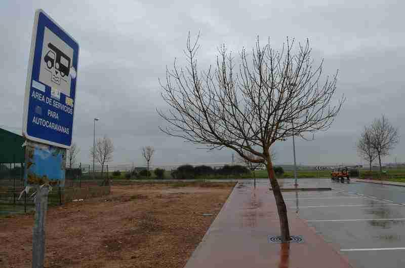 nuevo area de autocaravanas valencia de don juan