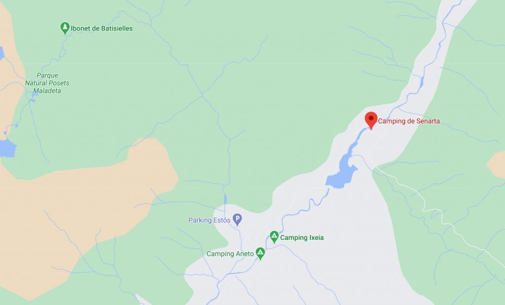 campings para ir con autocaravana pirineos españa