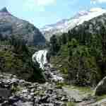 Motorhome route through the Pyrenees