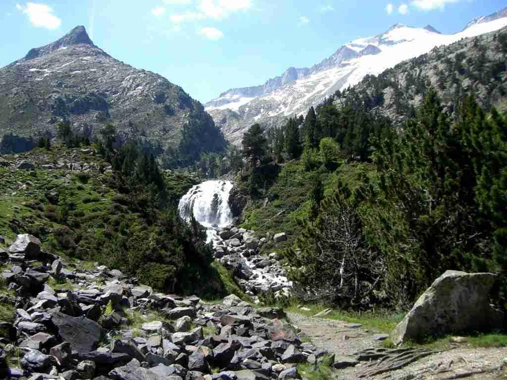 Cascada de Aiguallut, Benasque, Huesca