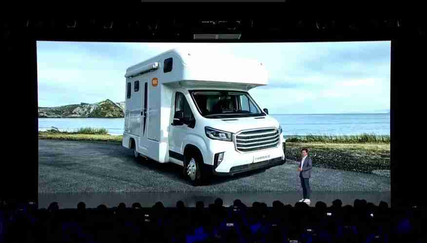 Lei Jun, fundador, presidente y director ejecutivo de Xiaomi en 2021 lanzamiento autocaravana electrica