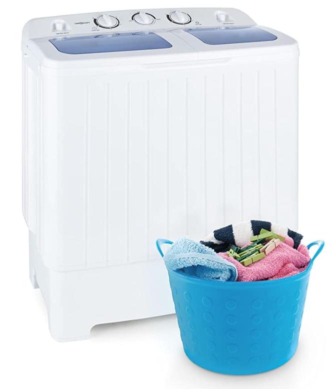 Oneconcept Ecowash XL lavadora sostenible de 4,2 kg