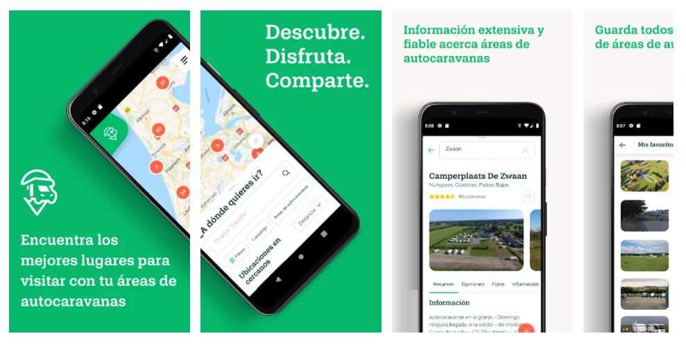 app para autocaravanistas Campercontact