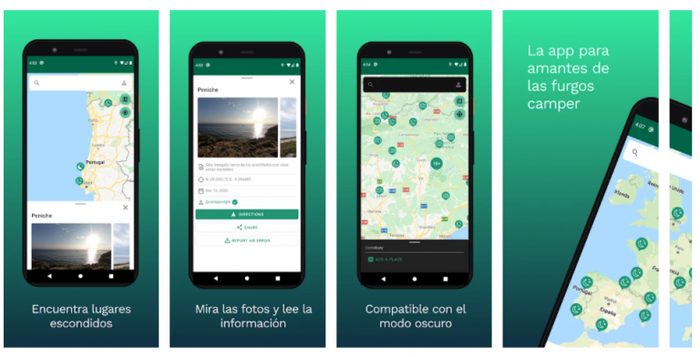 apps para campers