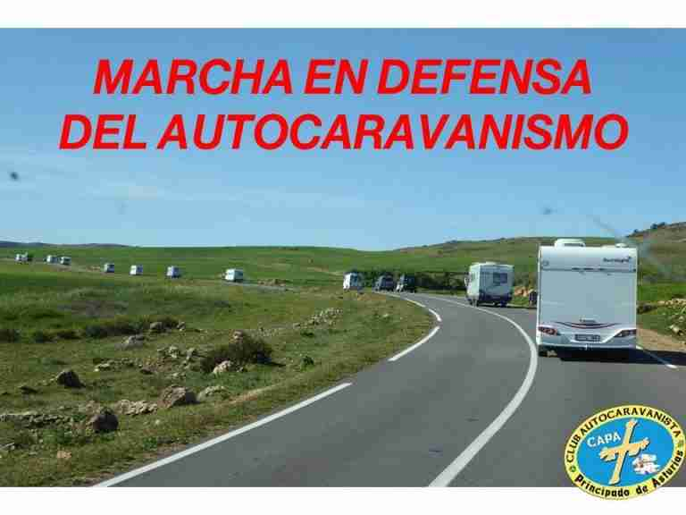 marcha autocaravanas oviedo 13 noviembre